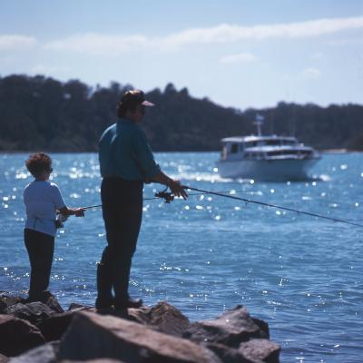 Fishing in Lakes Entrance image